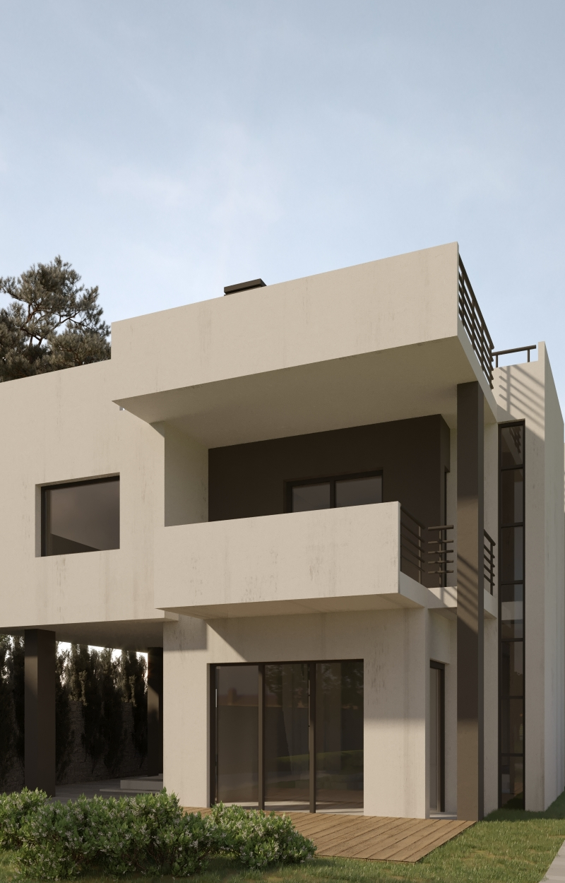 Triptic House